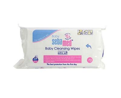 Sebamed Dětské vlhčené ubrousky Baby (Baby Cleansing Wipes) 72 ks