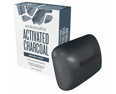 Přírodní toaletní mýdlo aktivní dřevěné uhlí (Bar Soap Active Charcoal) 142 g