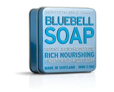 Scottish Fine Soaps Mýdlo v plechu Hyacint 100 g