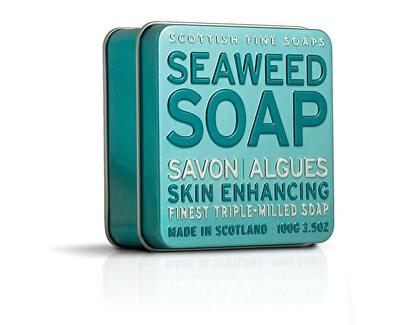 Scottish Fine Soaps Mýdlo v plechu Mořská řasa 100 g