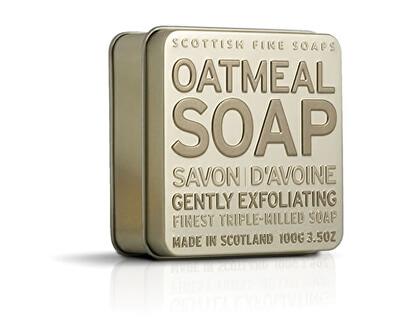 Scottish Fine Soaps Mýdlo v plechu Oves 100 g