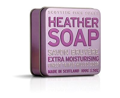 Scottish Fine Soaps Mýdlo v plechu Vřesovec 100 g