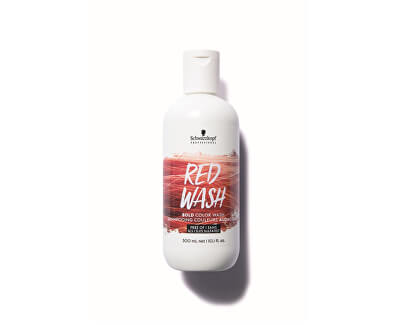 Intenzivní barvicí šampon Bold Color Wash Red 300 ml