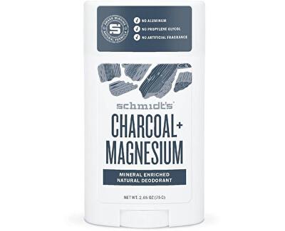 Tuhý dezodorant drevené uhlie + horčík (Signature Active C harcoal + Magnesium Deo Stick) 58 ml