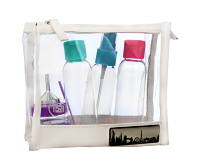 Cestovní sada lahviček na kosmetiku (Travel set) 7 ks