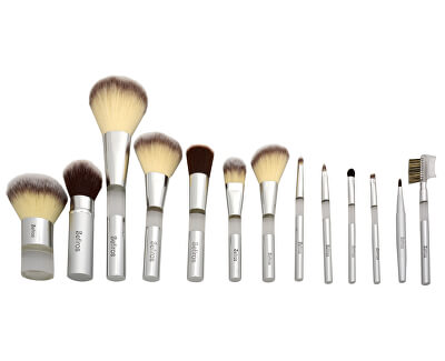 Štětec na řasy a obočí Silver (Eyelash Brush With Comb)