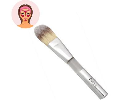 Sefiros Rovný štětec na make-up Silver (Foundation Brush Flat)