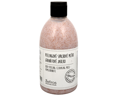 Sefiros Peelingové sprchové mlieko Granátové jablko (Body Peeling Cleansing Milk) 500 ml
