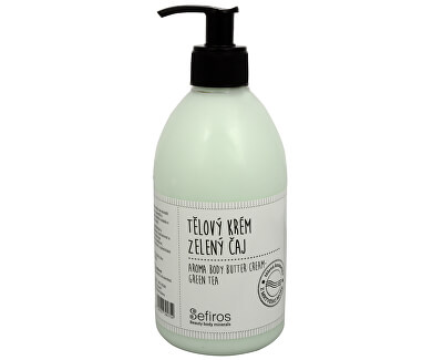Sefiros Tělový krém Zelený čaj (Aroma Body Butter Cream) 500 ml