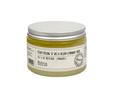 Tělový peeling se solí a olejem Citronová tráva (Salt & Oil Bodyscrub) 300 ml