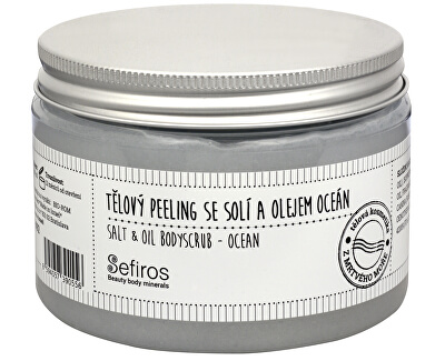 Sefiros Tělový peeling se solí a olejem Oceán (Salt & Oil Bodyscrub) 300 ml
