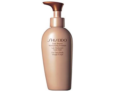 Shiseido Denní bronzující emulze na tělo i tvář (Daily Bronze Moisturizing Emulsion) 150 ml