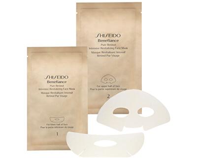 Intenzivní revitalizační maska na obličej Benefiance (Pure Retinol Intensive Revitalizing Face Mask) 4 ks