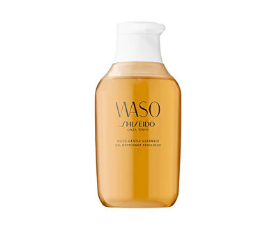 Shiseido Jemný gelový odličovač make-upu s výtažkem z medu Waso (Quick Gentle Cleanser) 150 ml