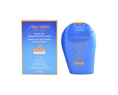 Vodeodolné mlieko na opaľovanie SPF 30 Suncare Expert Sun (Aging Protection Lotion) 100 ml