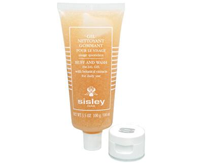Čisticí pleťový gel a rostlinnými výtažky (Buff and Wash Facial Gel) 100 ml