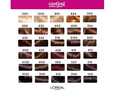 Barva na vlasy Casting Crème Gloss - SLEVA - pomačkaná krabička