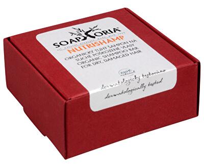 Přírodní tuhý šampon na suché a poškozené vlasy NutriShamp 60 g - SLEVA - poškozená krabička