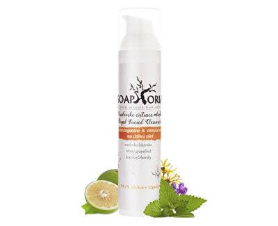 Soaphoria Adstringentné & stimulačný čistiace mlieko na citlivú pleť (Royal Facial Cleanser) 100 ml