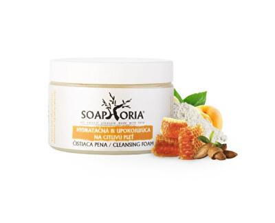 Soaphoria Hydratační & uklidňující čisticí pěna na citlivou pleť (Cleansing Foam) 150 ml
