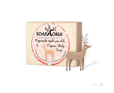 Soaphoria Organické mýdlo pro děti Babyphoria (Organic Baby Soap) 115 g