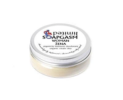 Soaphoria Přírodní krémový deodorant Soapgasm Žena (Organic Cream Deo Woman) 50 ml