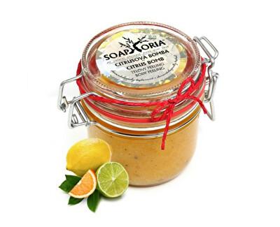 Soaphoria Přírodní peeling na tělo Citrusová bomba (Citrus Bomb Body Peeling) 250 ml