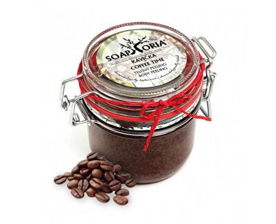 Soaphoria Přírodní peeling na tělo Kávička (Coffee Time Body Peeling) 255 ml