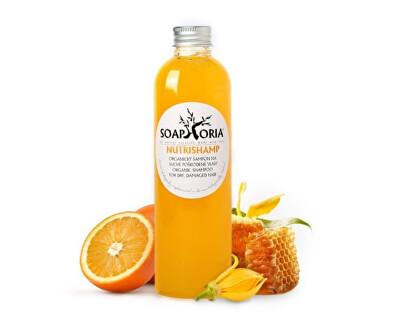 Soaphoria Přírodní tekutý šampon NutriShamp na suché a poškozené vlasy (Organic Shampoo For Dry Damaged Hair) 250 ml