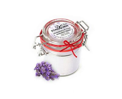 Soaphoria Přírodní tělové suflé Levandulové pole (Lavender Fields Body Souffle) 125 ml