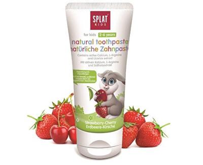 Pasta de dinți pentru copii Căpșuni-cireșe 50 ml