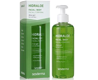 Hidraloe Gel hidratant pentru față și corp (Aloe Gel) 250 ml