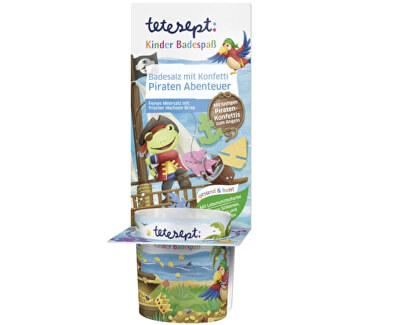 Sare de baie cu confetti Aventura piratelor 40 g