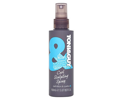 Sprej pro zvýraznění vlnitých vlasů (Spray Gel For Curls) 150 ml