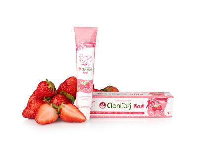 Dětská bylinná zubní pasta s jahodovou příchutí 35 g