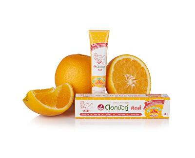 Dětská bylinná zubní pasta s pomerančovou příchutí 35 g