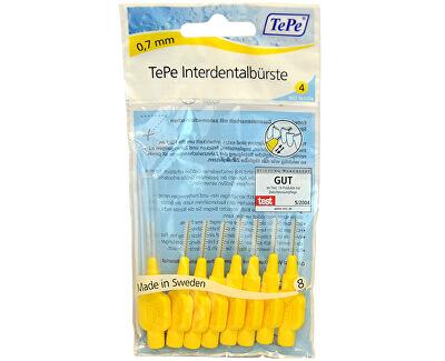 TePe Mezizubní kartáčky Normal 0,7 mm žlutý 8 ks