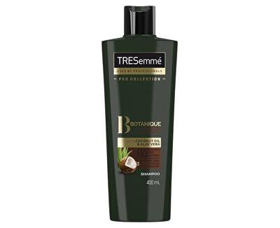 Kokosový šampon pro hydrataci suchých a poškozených vlasů (Botanique Nourish & Replenish Shampoo) 400 ml