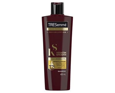 Šampon s keratinem pro hladké vlasy bez krepatění (Keratin Smooth Shampoo) 400 ml