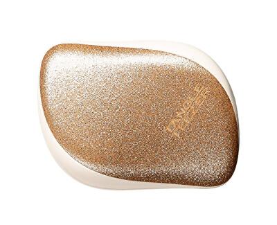 Profesionální kartáč na vlasy Tangle Teezer Christmas  Gold Starlight  (Compact Styler)