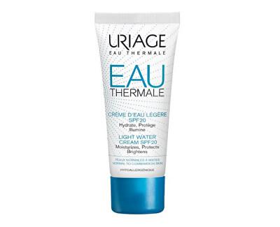 Lehký hydratační krém SPF 20 Eau Thermale (Light Water Cream) 40 ml