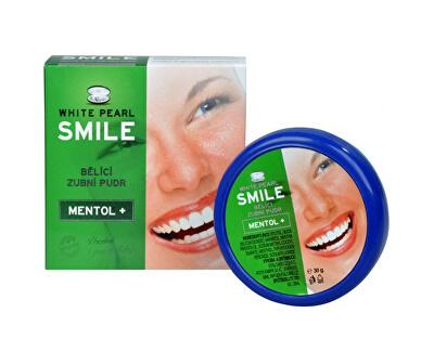 VitalCare Bělicí zubní pudr SMILE Mentol+ 30 g