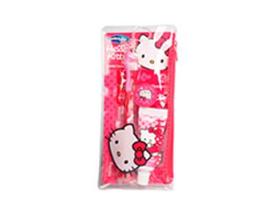 Dentální cestovní sada Hello Kitty