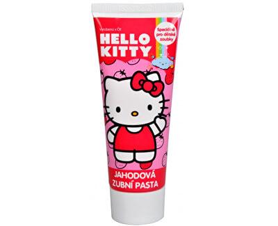 Zubní pasta - gel s jahodou příchutí Hello Kitty 75 ml