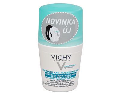 Vichy 48hodinový kuličkový antiperspirant proti bílým a žlutým skvrnám 50 ml