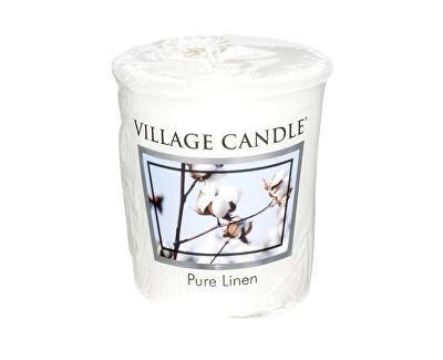 Village Candle Aromatická votívny sviečka Čisté prádlo ( Pure Linen) 57 g