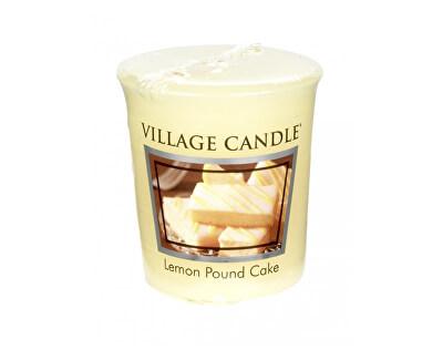 Village Candle Aromatická votívny sviečka Citrónový koláč (Lemon Poud Cake) 57 g