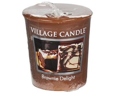 Village Candle Aromatická votivní svíčka Čokoládový dortík (Brownie Delight)  57 g