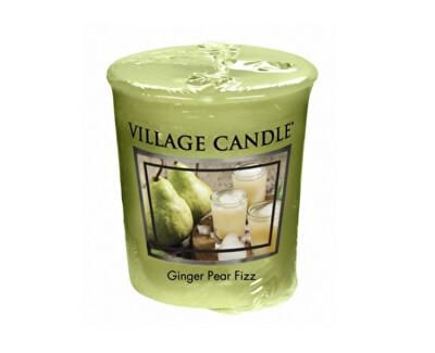 Village Candle Aromatická votívny sviečka Hruškový fizz so zázvorom (Ginger Pear Fizz) 57 g