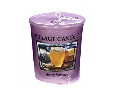 Village Candle Aromatická votívny sviečka Med a pačuli (Honey Patchouli) 57 g